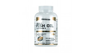 Fish oil + Vitamine E, 90 Softgels